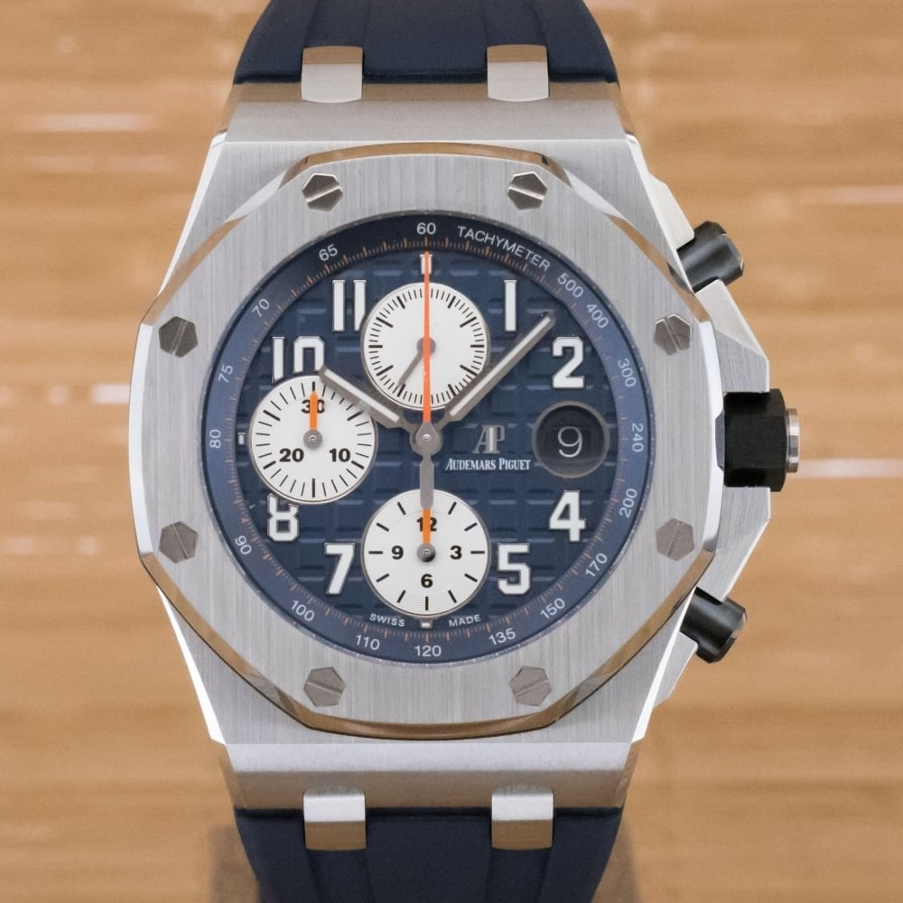 Audemars Piguet Royal Oak Offshore Chronograph With Box And Papers November 2017