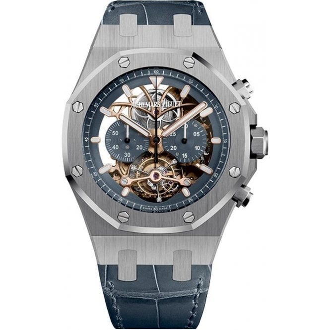 Audemars Piguet Royal Oak Tourbillon Chronograph Openworked - Unworn with Box and Papers