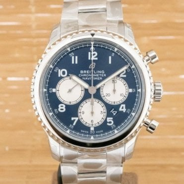 Navitimer 8 B01 Chronograph 43mm - Unworn with Box and Papers July 2018