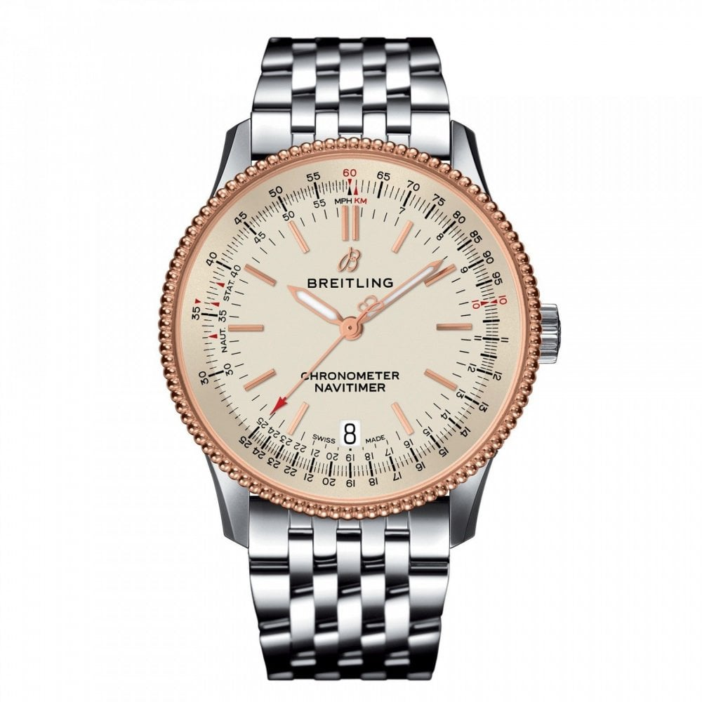 Breitling Navitimer Automatic 38mm U17325211g1a1 Unworn With Box And Papers