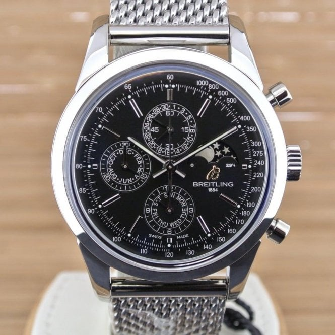Breitling Transocean Chronograph 1461 - Boxed with Papers from April 2016