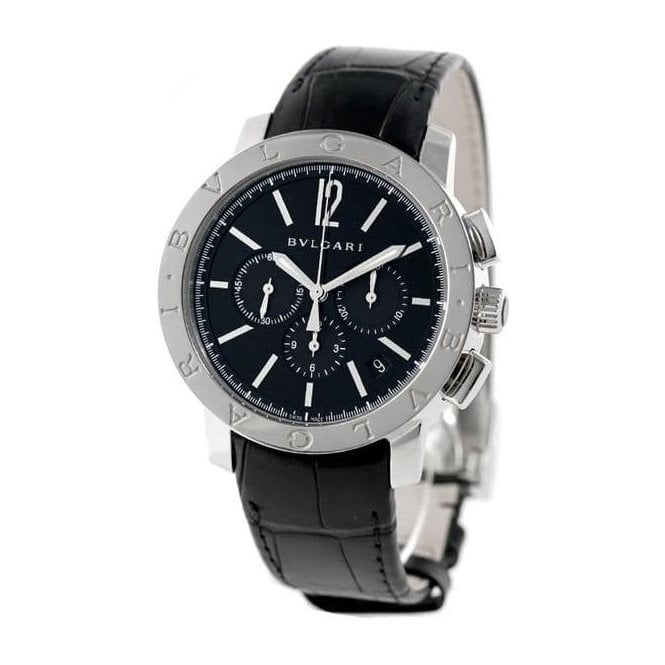 Bvlgari Chronograph Steel - Unworn with Box and Papers 7 day delivery