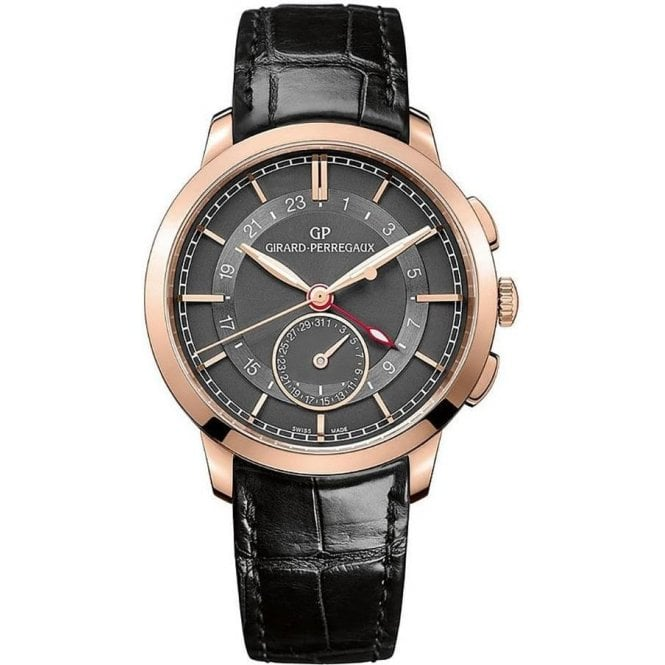 Girard Perregaux 1966 Dual Time - Unworn with Box and Papers 2017 7 day delivery