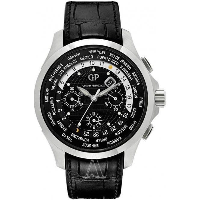 Girard Perregaux Traveller WW.TC - Unworn with Box and Papers 2017 7 day delivery