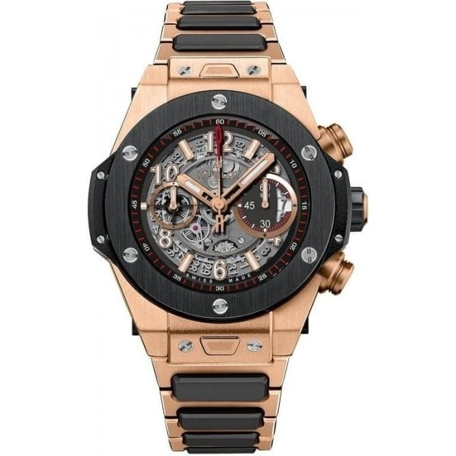 Hublot A Bagdonaite - Big Bang Unico King Gold 45mm - Unworn with Box and Papers