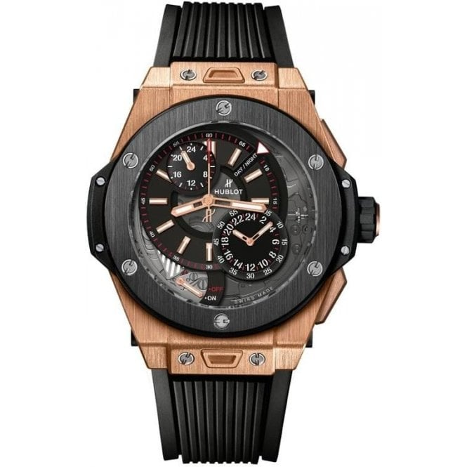 Hublot Big Bang Alarm Repeater King Gold Ceramic - Unworn with Box and Papers