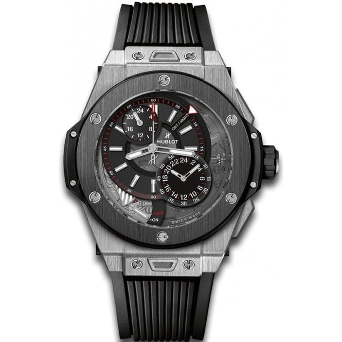 Hublot Big Bang Alarm Repeater Titanium Ceramic - Unworn with Box and Papers