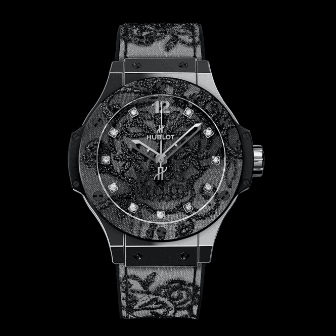 Hublot Big Bang Broderie Steel - Unworn with Box and Papers