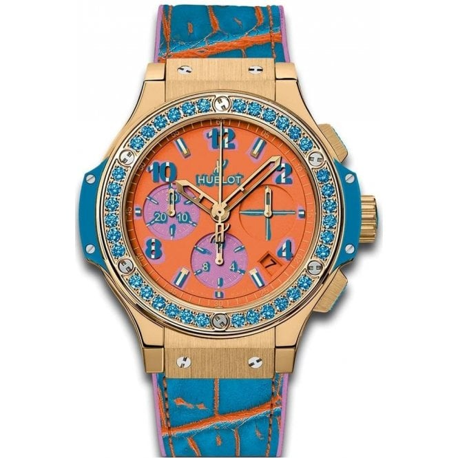 Hublot Big Bang Pop Art Rose Gold Jewellery 41 mm - Unworn with Box and Papers