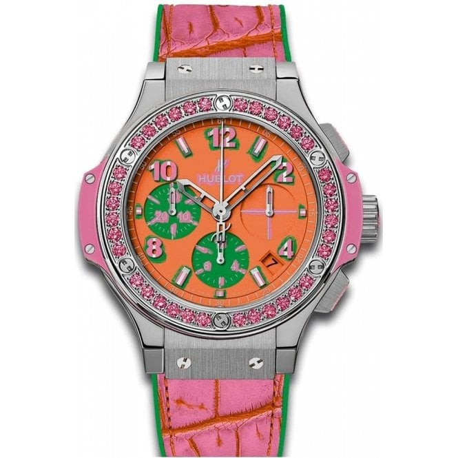 Hublot Big Bang Pop Art Steel Rose 41 mm - Unworn with Box and Papers