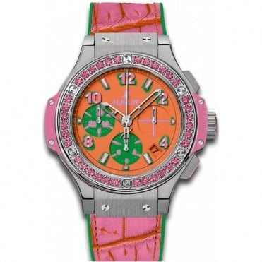 Big Bang Pop Art Steel Rose 41 mm - Unworn with Box and Papers