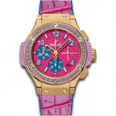 Big Bang Pop Art Yellow Gold Purple 41 mm - Unworn with Box and Papers