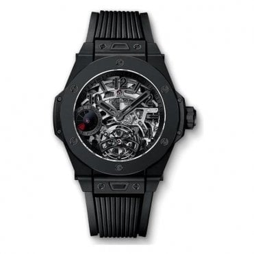 Big Bang Tourbillon Power Reserve 5 days All Black - Unworn with Box and Papers