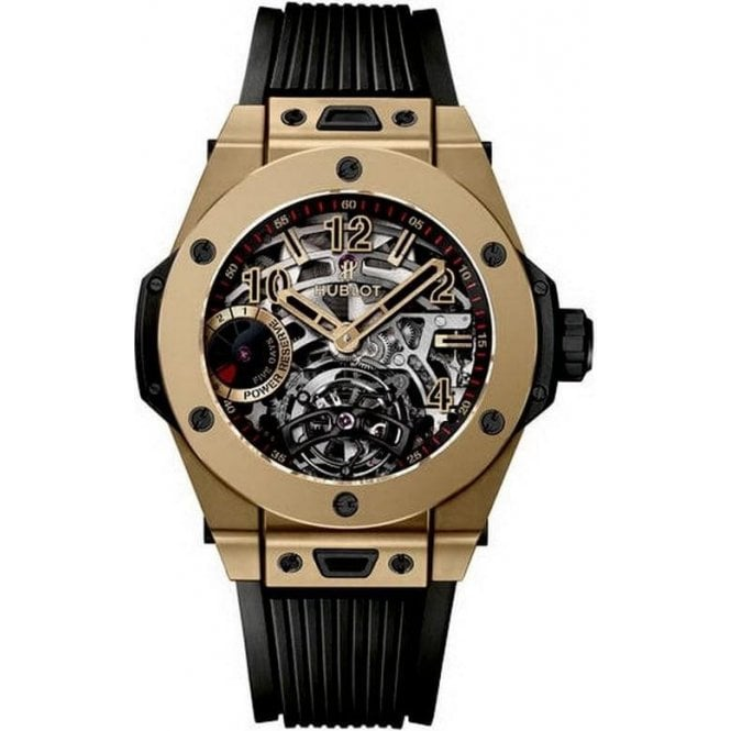 Hublot Big Bang Tourbillon Power Reserve 5 Days Full Magic Gold - Unworn with Box and Papers