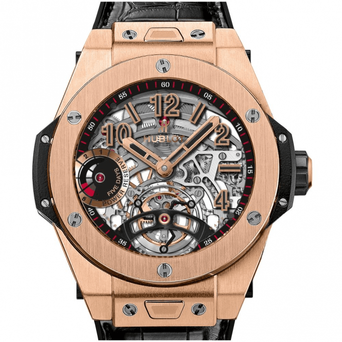 Hublot Big Bang Tourbillon Power Reserve 5 days King Gold - Unworn with Box and Papers