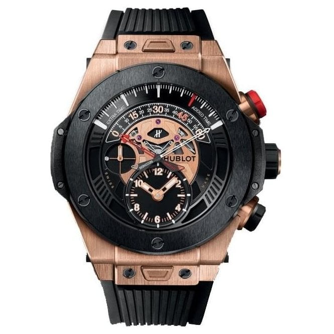 Hublot Big Bang Unico Bi-Retrograde Chrono King Gold Ceramic - Unworn with Box and Papers