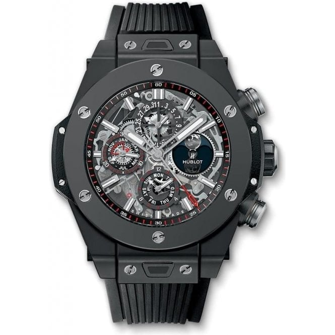 Hublot Big Bang Unico Perpetual Calendar Black Magic - Unworn with Box and Papers