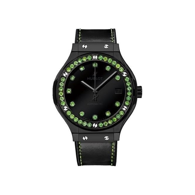 Hublot Classic Fusion Shiny Ceramic Green 42 mm - Unworn with Box and Papers