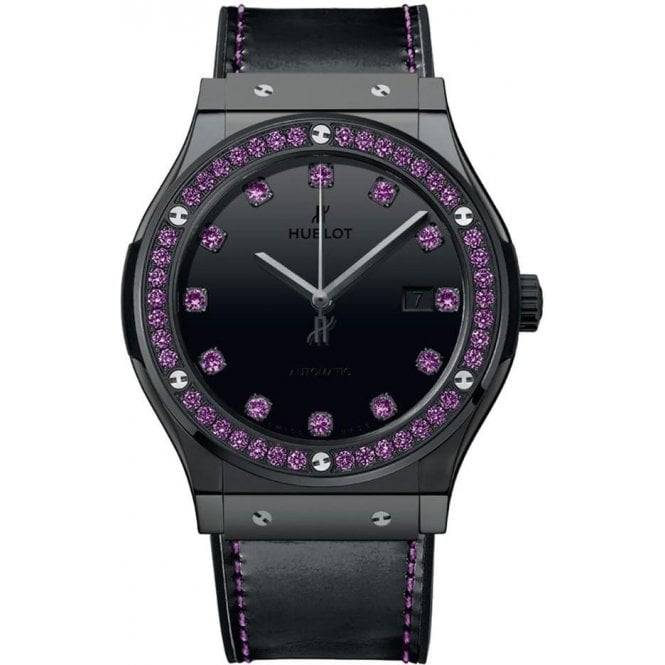 Hublot Classic Fusion Shiny Ceramic Purple 42 mm - Unworn with Box and Papers