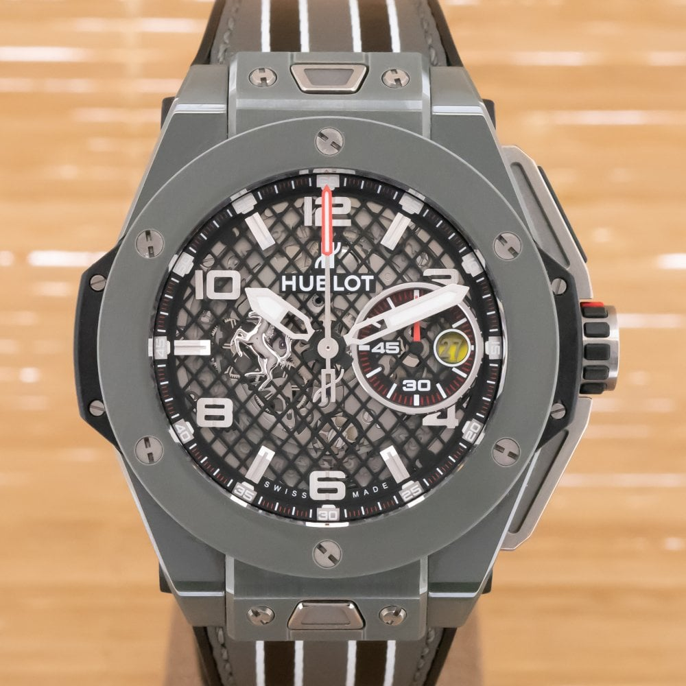 Hublot Ferrari Speciale Big Bang , Box and Papers January 2018