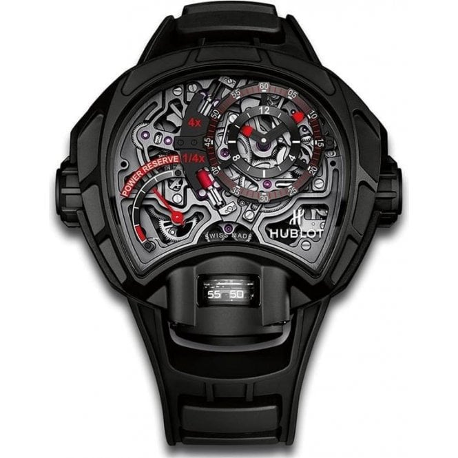 Hublot Mp Mp-12 Key Of Time Skeleton All Black - Unworn with Box and Papers