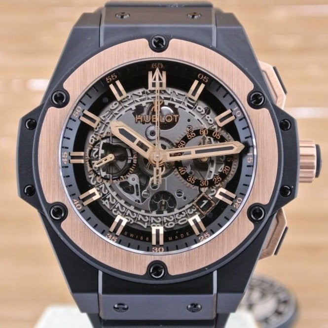 Hublot Unico King Power Ceramic Gold - Unworn with Box and Papers