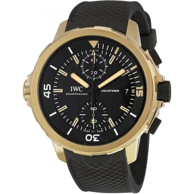 "IWC Aquatimer Chronograph Edition ""EXPEDITION CHARLES DARWIN"" 44mm - Unworn with Box and Papers"