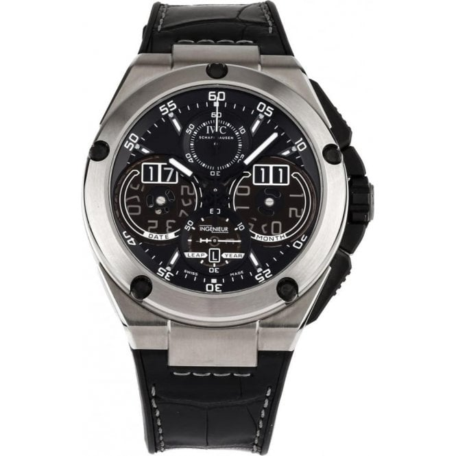 IWC Ingenieur Perpetual Calendar Digital Date-Month 46mm - Unworn with Box and Papers