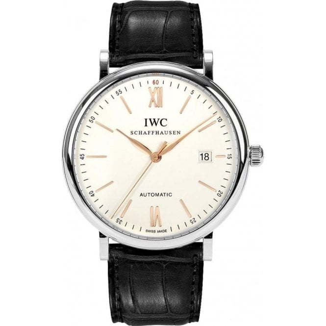 IWC Portofino Automatic 40mm - Unworn with Box and Papers
