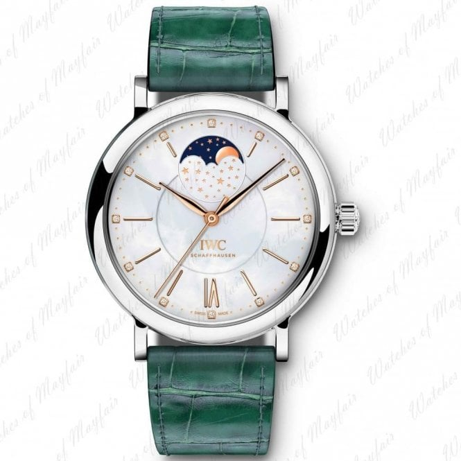 IWC Portofino Automatic Moon Phase 37mm - Unworn with Box and Papers
