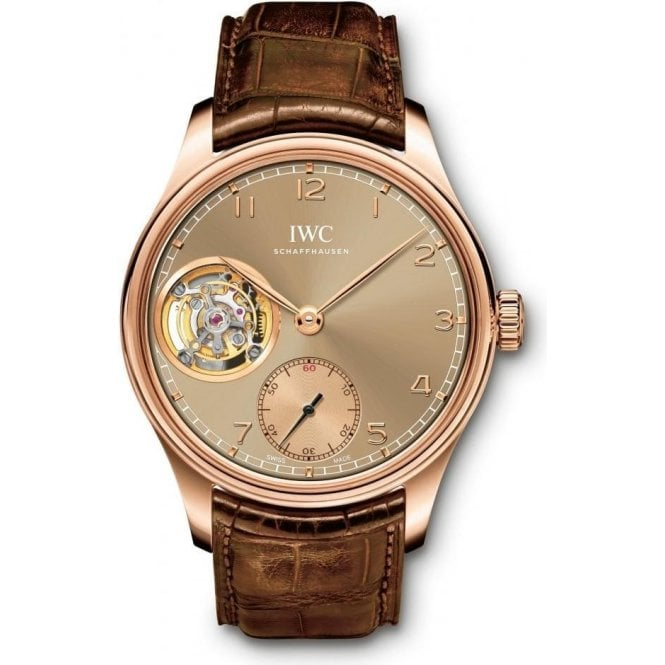 "IWC Portugieser Tourbillon Hand-Wound ""METROPOLITAN BOUTIQUE EDITION"" - Unworn with Box and Papers"