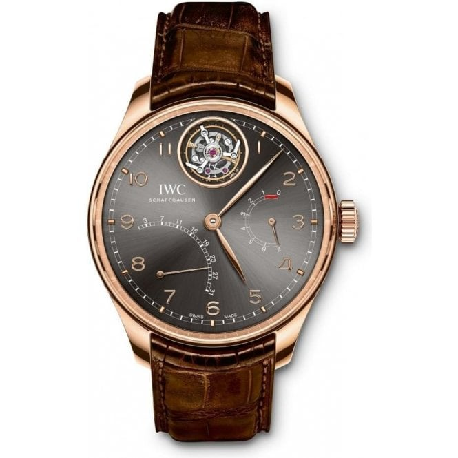 IWC Portugieser Tourbillon Mystere Retrograde - Unworn with Box and Papers