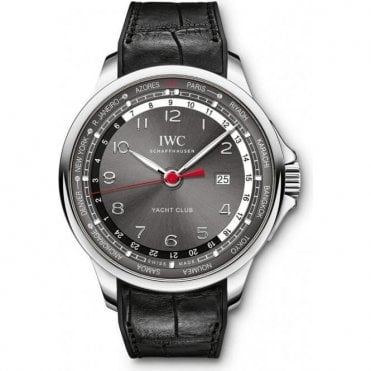 Portugieser Yacht Club Worldtimer 45.4mm - Unworn with Box and Papers