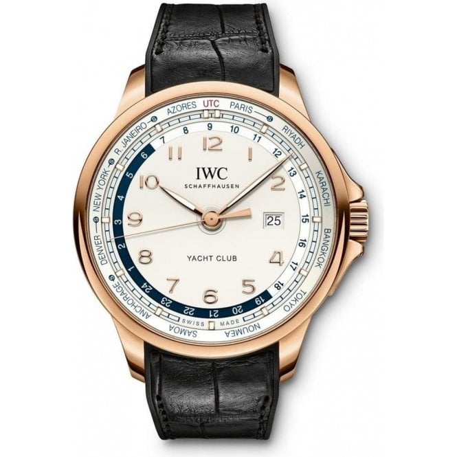 IWC Portugieser Yacht Club Worldtimer 45.4mm - Unworn with Box and Papers