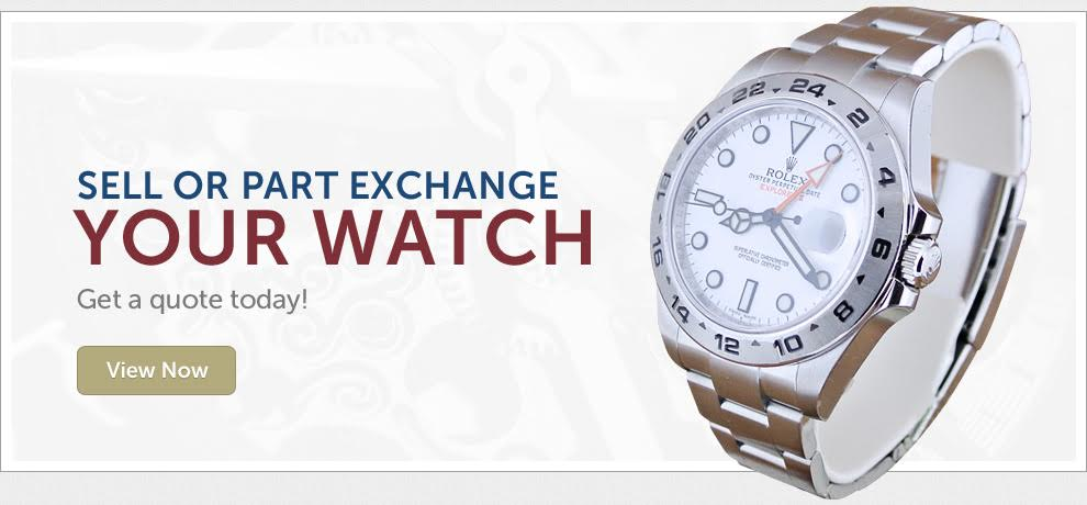 Sell or part exchange your watch