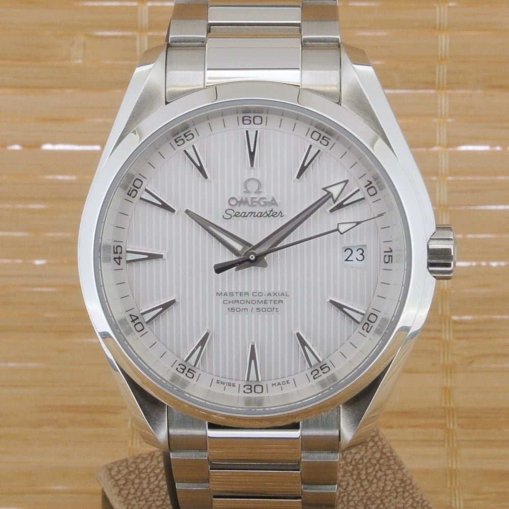 Omega Aqua Terra 150 M Master Co-Axial 41 5 MM - Unworn with Box and Papers  October 2017
