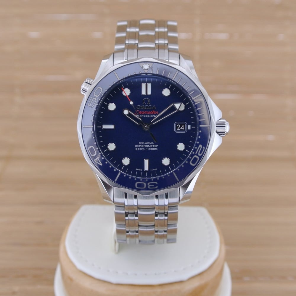 Omega seamaster diver 300 m co axial 41 mm boxed with - Omega dive watch ...