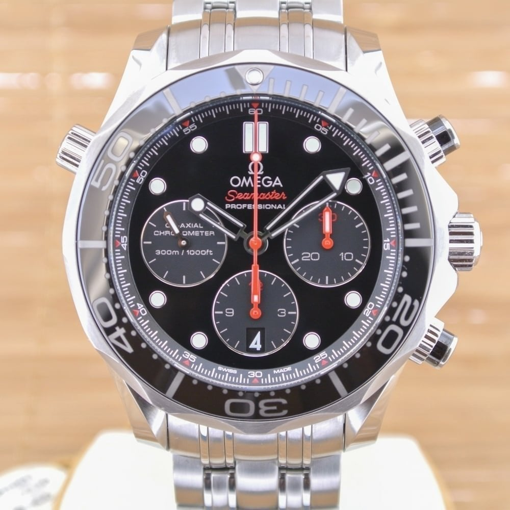 43e1f27b2 Seamaster Diver 300 M Co-Axial Chronograph 44mm - Unworn with Box and Papers
