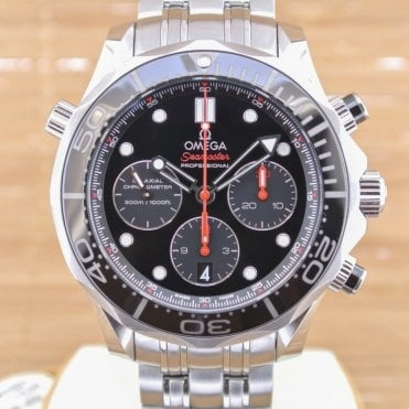 Seamaster Diver 300 M Co-Axial Chronograph 44mm - Unworn with Box and Papers