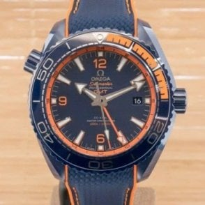 Omega Seamaster Planet Ocean Co-Axial Master Chronometer GMT Big Blue  - Unworn with Box and Papers March 2018