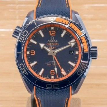 Seamaster Planet Ocean Co-Axial Master Chronometer GMT Big Blue  - Unworn with Box and Papers March 2018