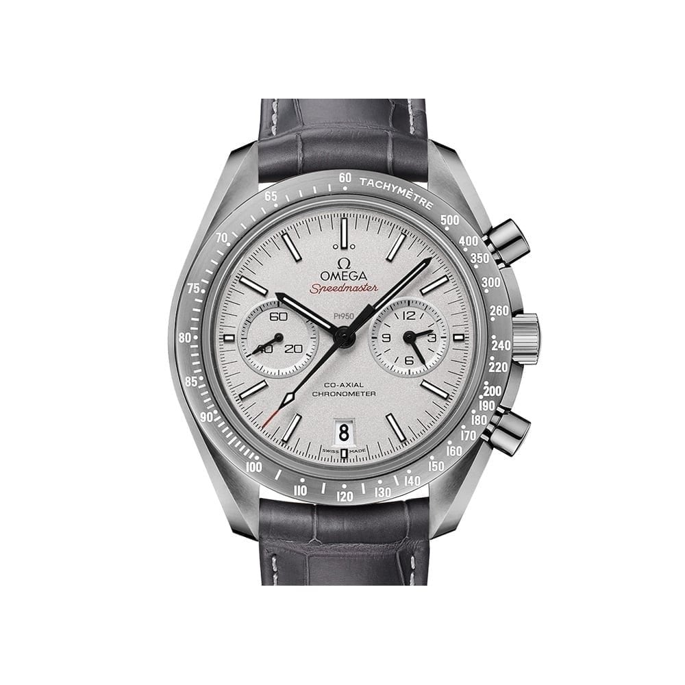 Omega Speedmaster Moonwatch Chronograph 44 25 Mm Grey Side Of The