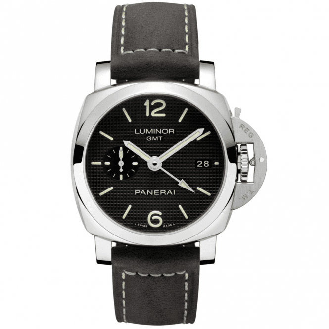 Panerai Luminor 1950 3 Days GMT Automatic Acciaio 42 mm - Unworn with Box and Papers