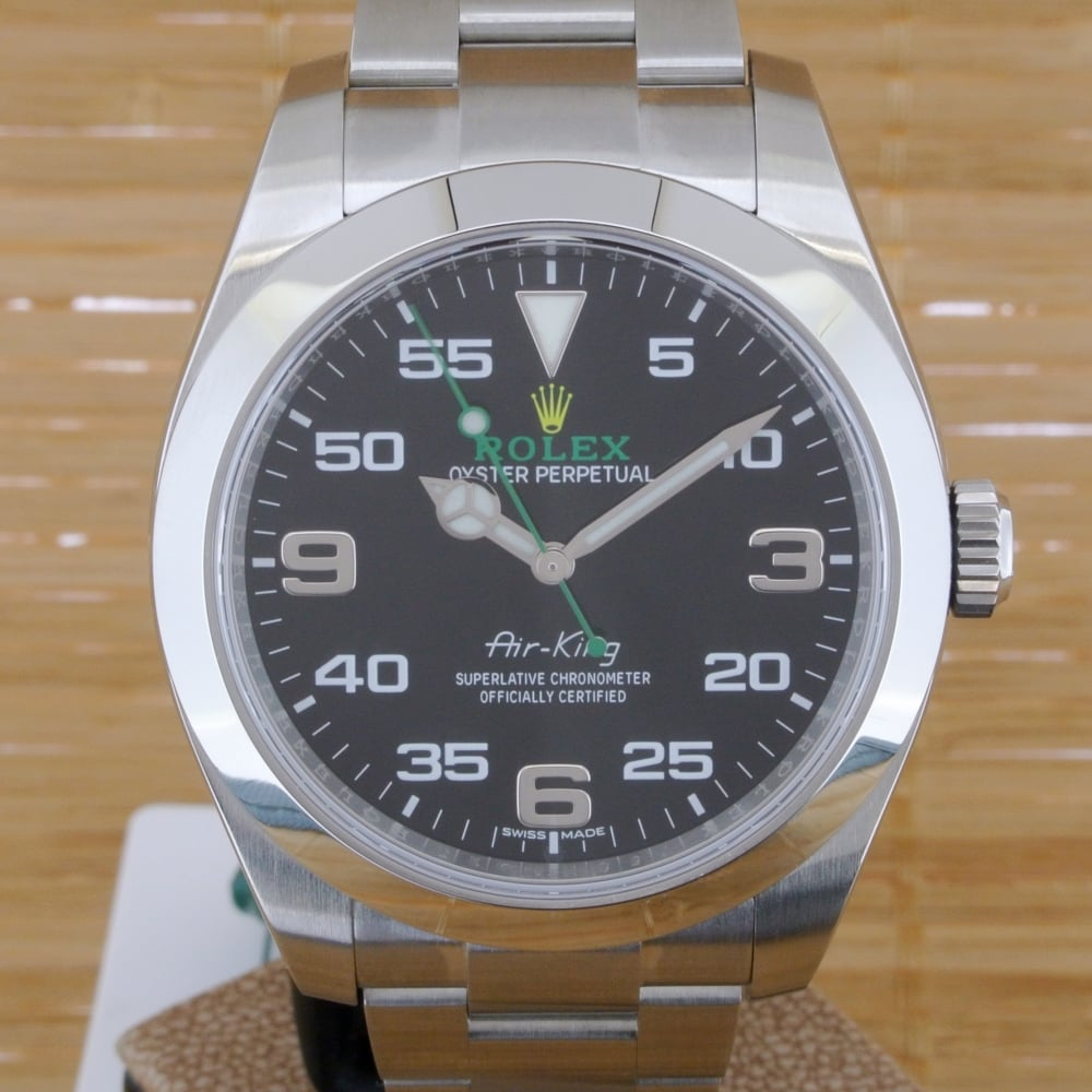 release date fa168 df6c6 Rolex Air King 116900 - Unworn with Box and Papers from July 2017