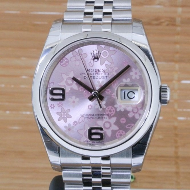 Rolex Datejust 36mm Stainless Steel - Unworn with Box and Papers