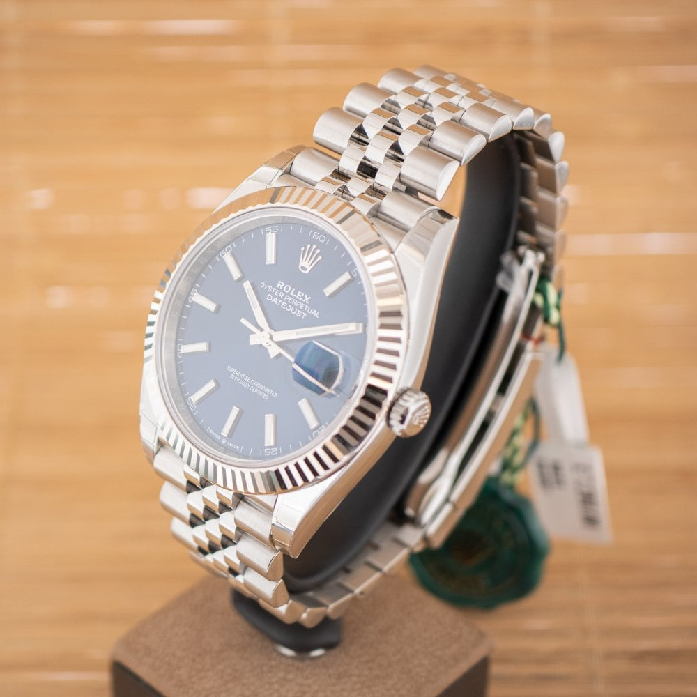 Rolex Datejust 41 Unworn with Box and Papers August 2019