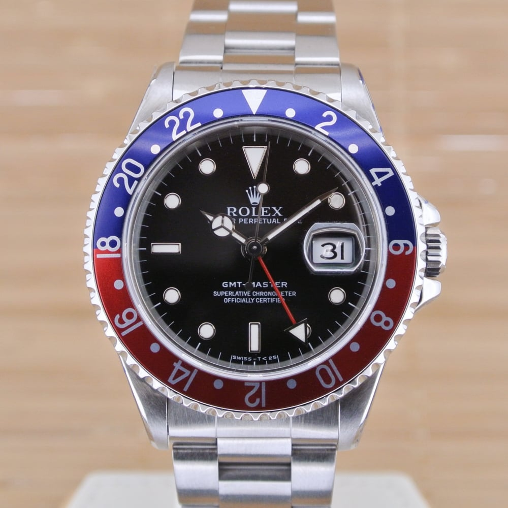 how to use rolex gmt