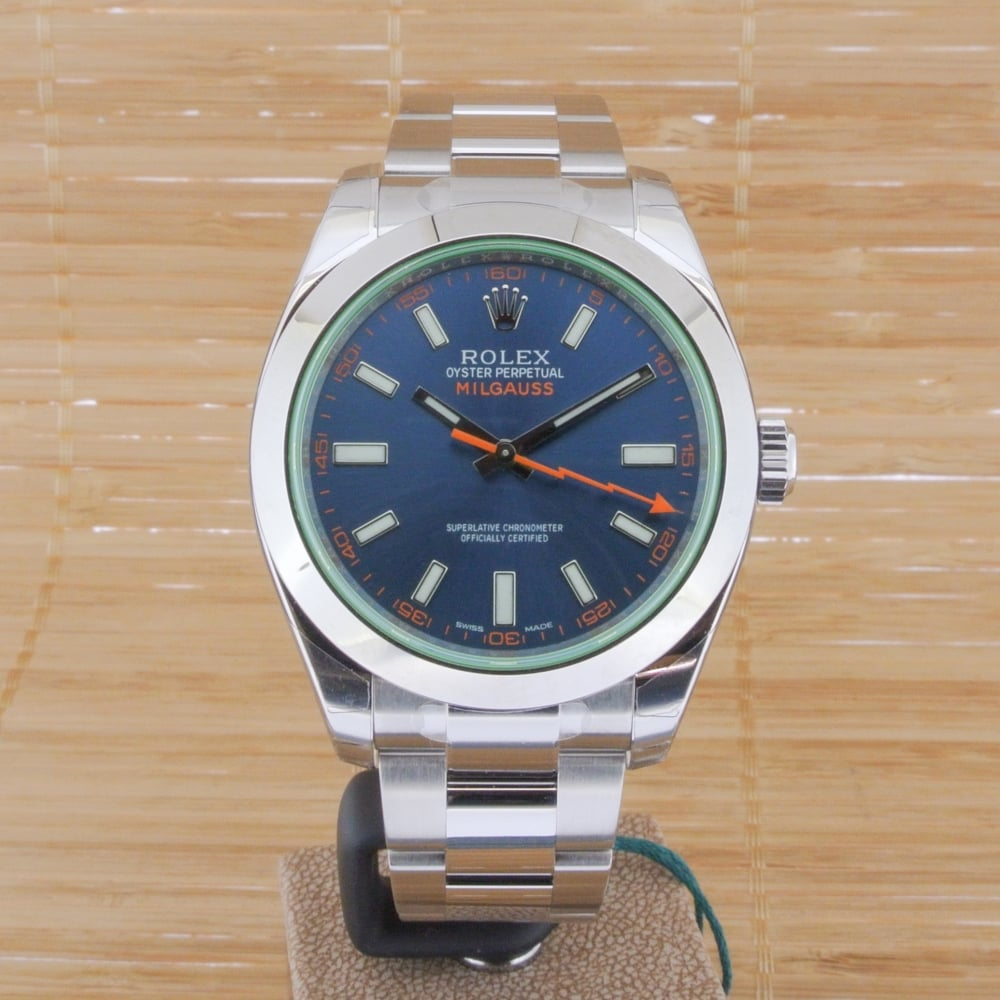 Rolex Milgauss Z Blue , Unworn with Box and Papers , Watches