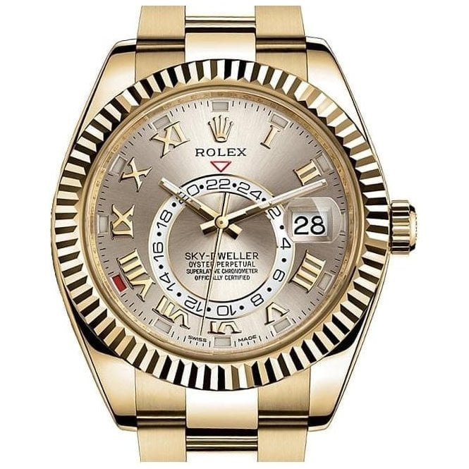 Rolex Sky-Dweller Yellow Gold - Unworn with Box and Papers