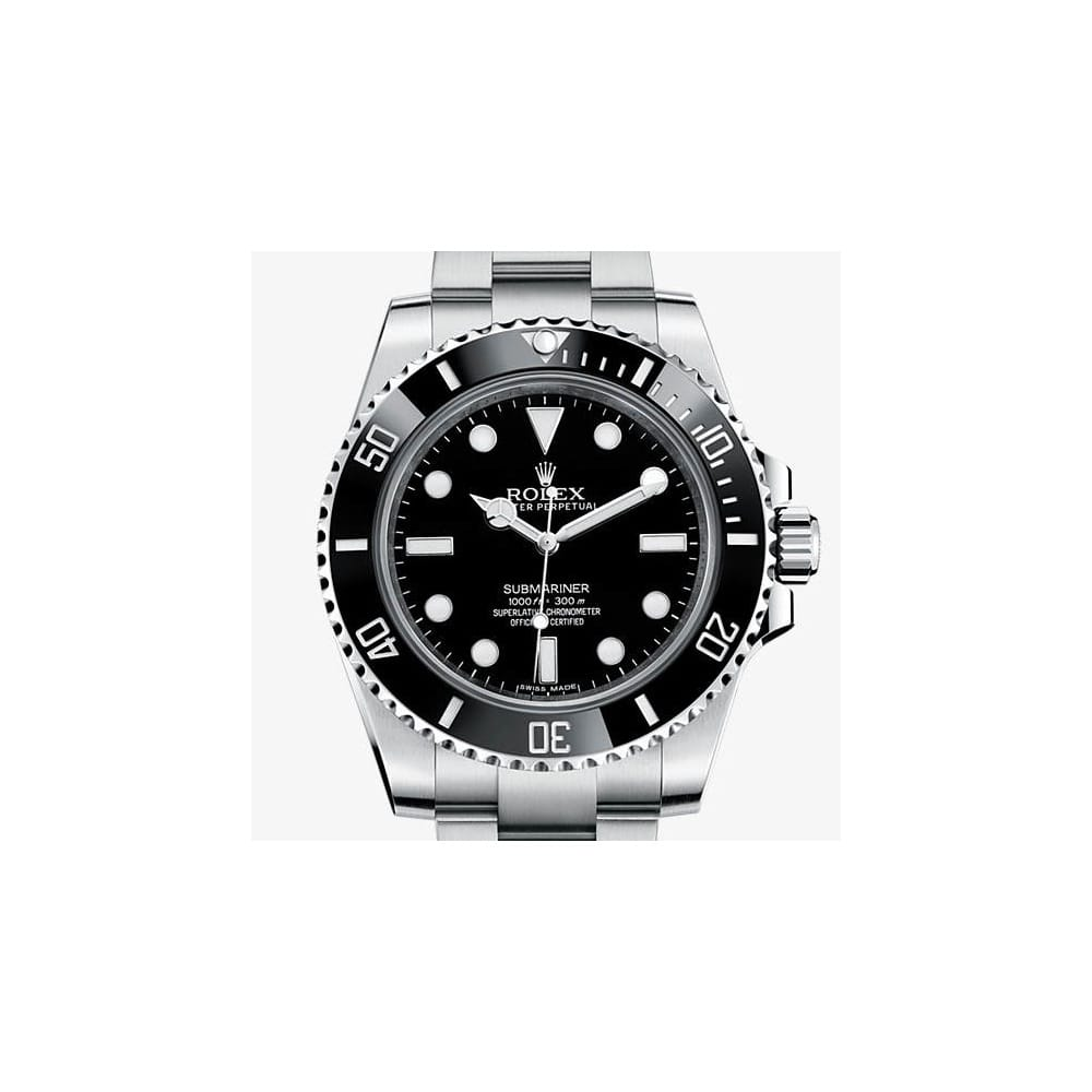rolex submariner 114060 rolex from watch buyers ltd uk. Black Bedroom Furniture Sets. Home Design Ideas